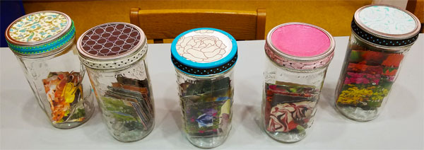 Beautiful Memory Jars